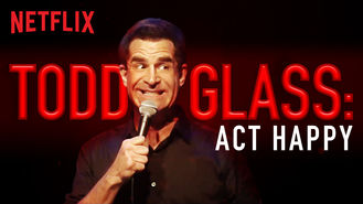 Todd Glass: Act Happy (2018) on Netflix in Brazil